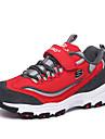 Garcon-Exterieure / Decontracte / Sport-Noir / Rouge / Gris-Talon Plat-Confort-Chaussures d\'Athletisme-Tulle
