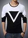 Bărbați Tricou Sport Casul/Zilnic Plus SizeMată Manșon Lung Bumbac Spandex