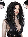 Premierwigs 8\'\'-24\'\'Natural Curly Brazilian Virgin Full Lace Human Hair Wigs Silk Base Lace Front Wigs For Black Women