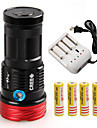 3 Mode 10800 Lumens LED Flashlights  Cree XM-L2