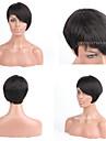Premierwigs 8A Fashion Wholesale Short Straight Natural Color Capless Brazilian Virgin Human Hair Wigs For Black Women