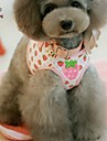 FUN OF PETS® Sweety Strawberry/Heart/Bear Pattern Harness with 120cm Leash for Pets Dogs(Assorted Sizes and Colours)