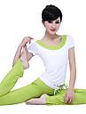 Yoga Klädesset/Kostymer Lättviktsmaterial Stretch Fotbollströjor DamYoga Pilates Motion & Fitness Fritid Sport Löpning