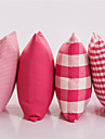 Polyester Kudde med Fyllning , rutig Modern / Traditionell / Land / casual / Traditionell/Klassisk / Dekorativ