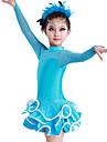Latin Dance Dresses Women\'s Performance  1 Piece 6 Colors