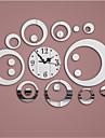 Moderne/Contemporain Famille Horloge murale,Rond Autres 14.96*18.50 Horloge