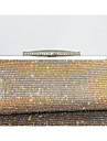 Women Other Leather Type Minaudiere Clutch / Evening Bag - Gold / Silver / Black
