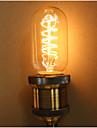 e27 60W T45 runt siden edison Culb bar KTV personlighet retro konst glödlampa
