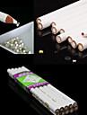 3pcs vita nail art strass pärlor plocka 3D-design målare blyertspenna dotting verktyg kit