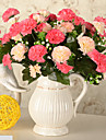 Gren Silke Plast Nejlika Bordsblomma Konstgjorda blommor 30x20x15cm