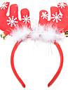 jul fjäder horn klocka hår prydnad