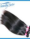 """7a drottning hårprodukter peruanska rakt jungfru hår 3 buntar 10-30 """"peruanska jungfru hår rakt människohår"""