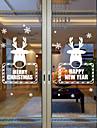 Djurtryck Modern Fönsterklistermärke,PVC/Vinyl Material fönster~~POS=TRUNC