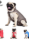 Dog / Cat Coat Red / Blue / Gray Winter Solid Cosplay