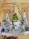 """22 * 34cm / 8.7 * 13.3 """"tentures de bonhomme de neige de Noel fenetre maison de decoration de l\'hotel de l\'arbre du Pere Noel"""