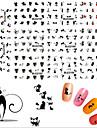 11pcs - Autocollants 3D pour ongles / Bijoux pour ongles - Doigt - en Adorable / Punk - 62mm*52mm