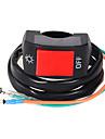 """1 * moto 7/8 """"interrupteur de feu de brouillard on / off DC12V systeme electrique"""