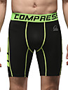 Course / Running Bas Homme Respirable Course/Running Sportif Noir Couleur Pleine S / M / L / XL