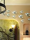 perete de metal decor de perete de arta, porumbelul de zbor set decor perete de 5