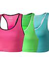 CLOTHIN® Women\'s Yoga/Cycling Top/Bra/Tankolyester&Elastano Cycling Camisole