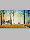 Peint a la main PaysageModern Un Panneau Toile Peinture a l\'huile Hang-peint For Decoration d\'interieur