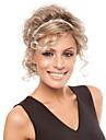 nyanländ blond färg charmiga stil peruk syntheic peruker förlängningar