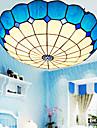 Modern / Traditionell/Klassisk / Rustik/Stuga / Vintage / Kontor/företag / Utomhus Flush Mount Lights Glas TakmonteradLiving Room /