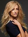 nieuwe mode van hoge kwaliteit vlas gouden lange natuurlijk volume synthetische pruiken hete verkoop.