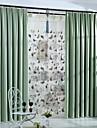 Två paneler Rustik / Modern / Nyklassisistisk Solid Multifärgad Bedroom Polyester Blackout Gardiner draperier