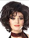 les femmes dame vente chaude courte naturelle couleur # 1b perruques synthetiques
