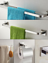 304 Stainless Steel Bathroom Accessory Set , Contemporary Stainless Steel Wall Mounted