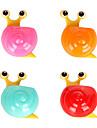 multifunktionella tecknade söta snigel vägg kraftfull cupule mångsidig förvaringsbox (slumpmässiga färger)