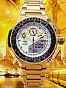 Bărbați Ceas Sport Ceas Militar Ceas Elegant Ceas La Modă Ceas digital Japoneză Quartz Piloane de Menținut CarneaCalendar Rezistent la