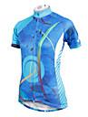 PALADIN Velo/Cyclisme Maillot / Hauts/Tops Femme Manches courtesRespirable / Resistant aux ultraviolets / Sechage rapide / Compression /