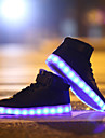 chaussures led haute a conduit la lumiere chaussures lumineuses usb charge baskets mode
