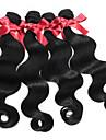 Malaysia förkroppsligar vinkar hårförlängningar 1pcs # 1b människohår jungfru vågigt hår väver buntar 50g / st