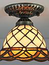 Contemporain / Traditionnel/Classique / Rustique / Vintage / Retro / Lanterne LED Verre Montage du fluxSalle de sejour / Chambre a