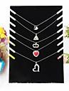 Black Velvet colier de șevalet bijuterii afișează 19 * 7 * 28cm