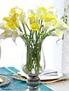 PU / Verklig beröring Lilja Konstgjorda blommor