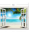 Botanique / Romance / Vacances / Paysage Stickers muraux Stickers muraux 3D , PVC