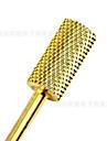 1st manikyr gyllene verktygssliphuvud pläterade hög kvalitet volframkarbid slipverktyg