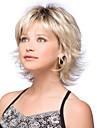 cheveux longue ligne droite lumiere du milieu de tissage europeen melange cheveux blonds couleur perruque synthetique