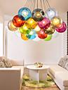 Contemporain / Traditionnel/Classique / Rustique / Vintage / Retro / Lanterne LED Verre Lampe suspendueSalle de sejour / Chambre a