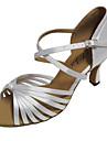 Chaussures de danse(Violet Rouge Blanc Autre) -Personnalisables-Talon Personnalise-Satin-Latine Salsa