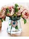 Une succursale Soie Pivoines Fleur de Table Fleurs artificielles