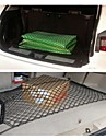 chargement arriere de rangement en filet a bagages automobile tronc reseau double couche durable universel a double couche de filet