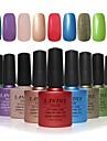 Choose 9 Piece LANDLE Soak Off UV Nail Gel Polish 79 Color Gel LED Manicure Gel