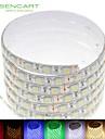 5m 75W 300x5050smd ledde RGB / vit / grön / blå / gul / röd / kallt vit / varmvitt 12V IP68 vattentät LED-belysning band