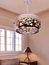 40W Hängande lampor ,  Traditionell/Klassisk / Rustik/Stuga / Vintage / Rustik Målning Särdrag for Flush Mount Lights MetallLiving Room /