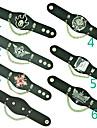 Smycken Inspirerad av Attack on Titan Cosplay Animé Cosplay Accessoarer Armband Svart Legering / PU Läder Man / Kvinna